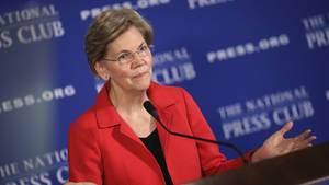 """Erinnerungsproblemen, Donald Trump?"": US-Senatorin Elizabeth Warren"