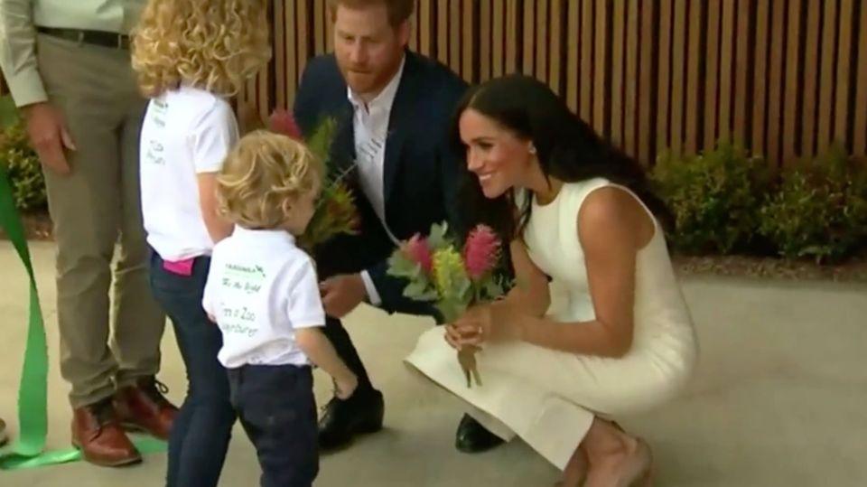 Prinz Harry und Herzogin Meghan im Zoo Taronga