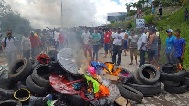 Brasilianischer Mob und brennende Eigentümer in Pacaraima