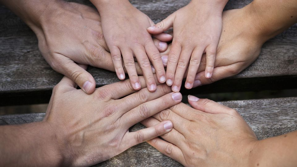 In der Adoptivfamilie halten alle zusammen