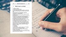 USA: Mann führt Liste mit Voraussetzungen für seine Traumfrau