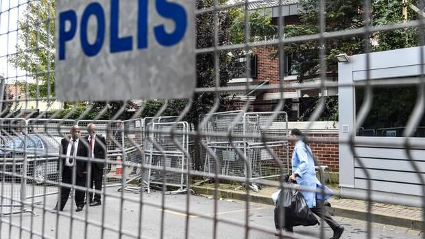 Die Türkei hat das saudische Konsulat in Istanbul durchsucht