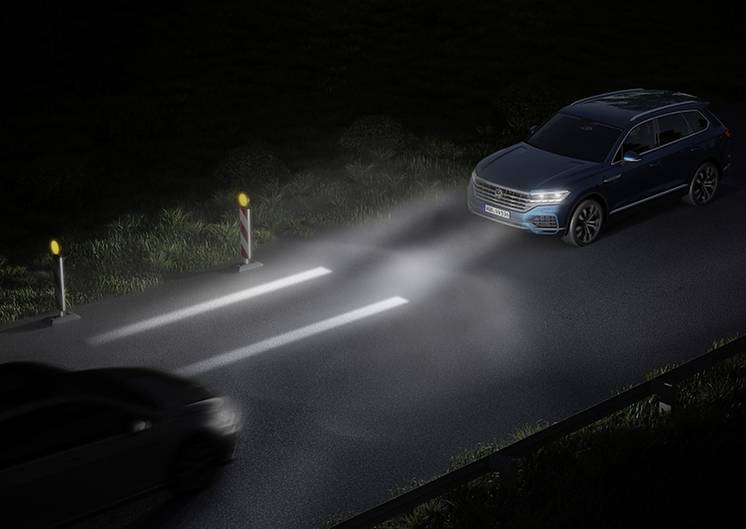 VW Touareg HD LCD Scheinwerfer