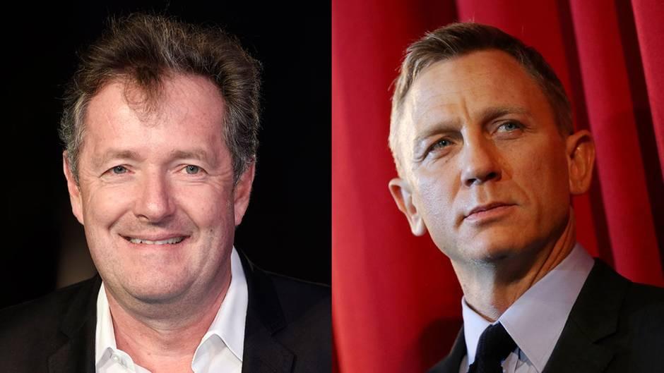 Piers Morgan und Daniel Craig