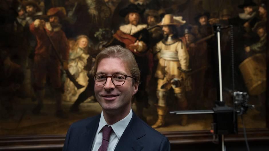 Niederlande - Rembrandts Nachtwache wird öffentlich restauriert