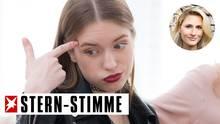 Teenager-Mädchen ist sauer