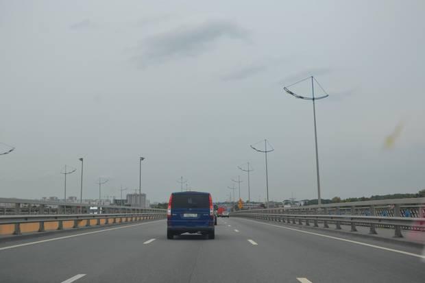 Neue, freie und graue Autobahnen in der Oblast Kaliningrad