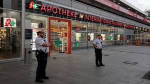 Apotheke am Kölner Hauptbahnhof – Schauplatz der Geiselnahme