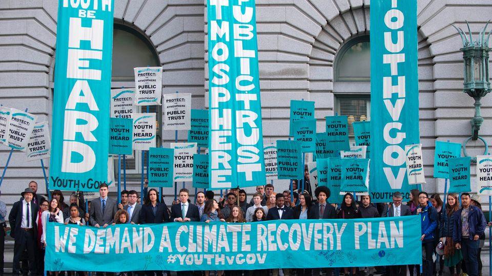 """Klimawandel-Prozess: """"Juliana vs. USA"""""""