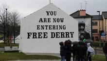 Geteilte Stadt: Londonderry oder Derry in Nordirland