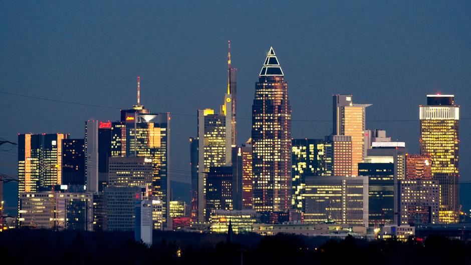 Cum-Ex-Geschäfte: Frankfurts Skyline