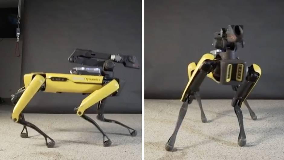 Beeindruckende Mechanik: Dieser Roboter kann tanzen - so gut, dass es gruselig ist