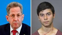 Noch-Verfassungsschutzchef Hans-Georg-Maaßen (l.) und der dritte Verdächtige von Chemnitz,Farhad Ramazan Ahmad