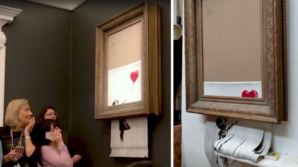 Kunst für Jedermann: Banksy eröffnet Online-Store – doch einkaufen kann man nur unter besonderen Bedingungen