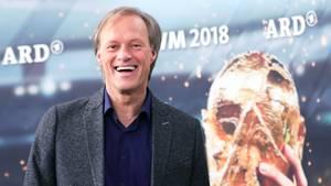 Gerhard Delling, ARD-Moderator für die Fußball-WM 2018 in Russland