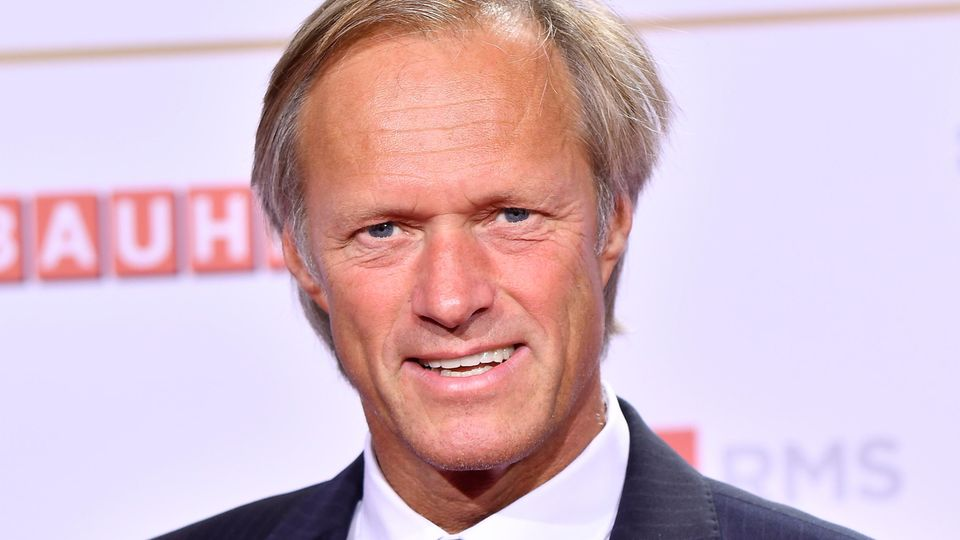 Gerhard Delling im September 2018 beim Radiopreis in Hamburg