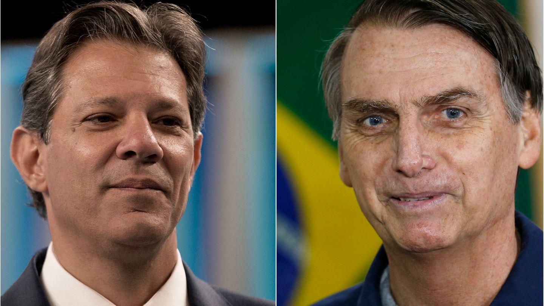 Brasilien: Fernando Haddad und Jair Bolsonaro