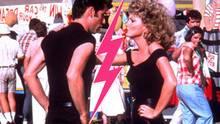 Newton-John und Travolta in Grease
