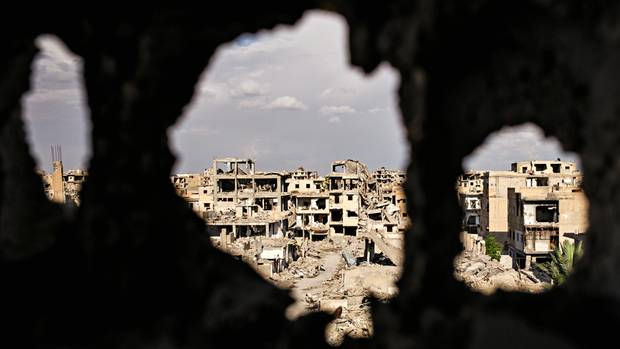 Raqqa, Stadt der Ruinen