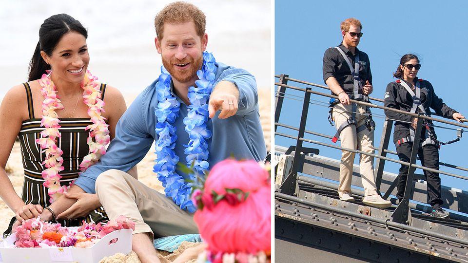 Royals in Australien: Erst entspannt, dann riskant: Harry und Meghan besuchen Sydney