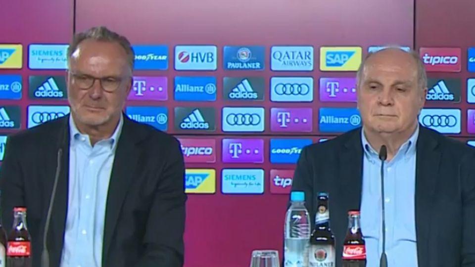 Die Bosse des FC Bayern: Karl-Heinz Rummenigge und Uli Hoeneß