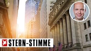 Die New Yorker Börse an der Wall Street