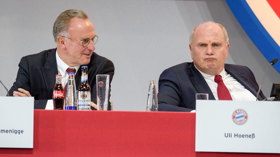 FC Bayern München: Die Abrechnung der Bayern-Bosse in Zitaten