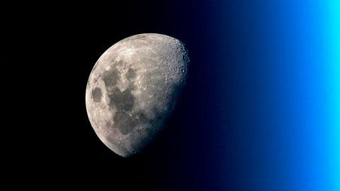 Mond China Symbolbild