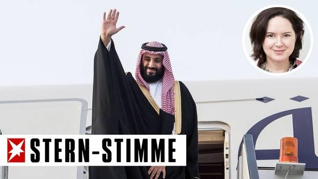 Kronprinz Mohammed bin Salman von Saudi Arabien