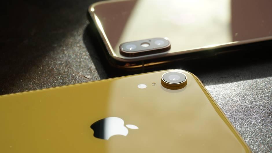 Das iPhone XR hat auf der Rückseite nur eine Kamera, kann dank Software-Tricks aber trotzdem Porträtfotos aufnehmen.