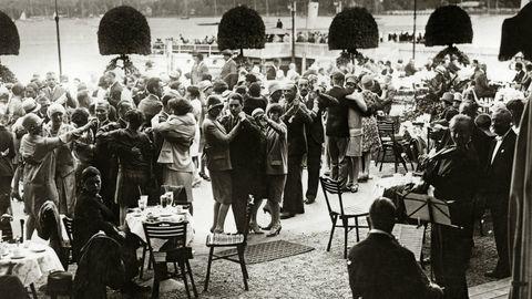 Tanztee am Wannsee um 1925
