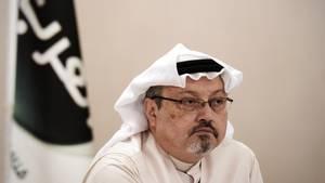 """Jamal Khashoggi.Dem Herrscher Saudi-Arabiens war der Journalist mit seinerKolumne in der """"Washington Post""""und 1,7 Millionen Abonnenten auf Twitter zunehmend ein Dorn imAuge."""