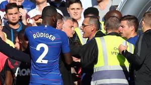 José Mourinho sorgt an der Stamford Bridge für eine Rudelbildung