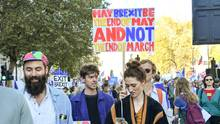 #PeoplesVoteMarch in London