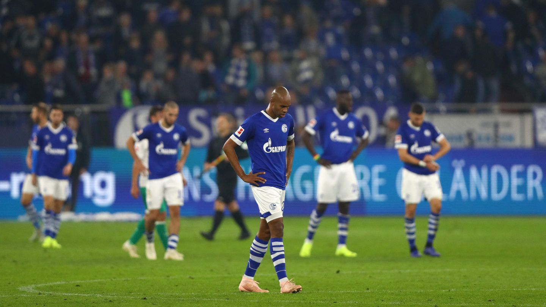 Nalso und seine Schalker haben sechs von acht Bundesliga-Spielen verloren. Für Trainer Tedesco wird es langsam jeng