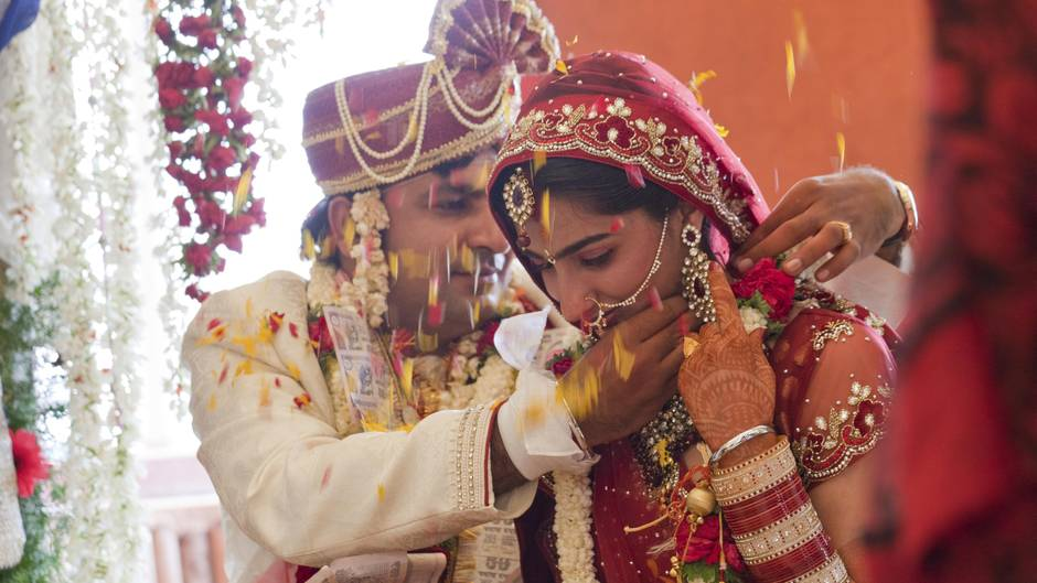 In Indien Können Touristen Tickets Für Traditionelle Hochzeiten