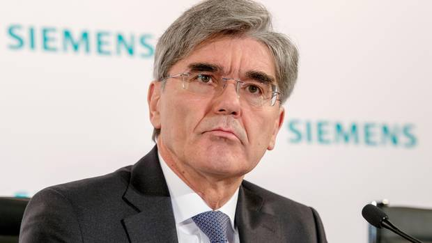 Siemens-Chef Kaeser sagt Teilnahme an Riad-Konferenz ab