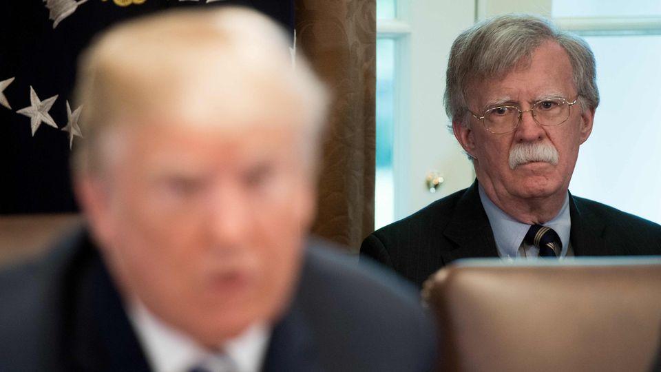 John Bolton - der Strippenzieher hinter US-Präsident Donald Trump