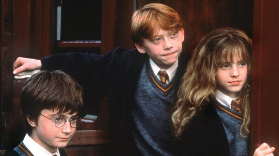 Harry, Hermine und Ron