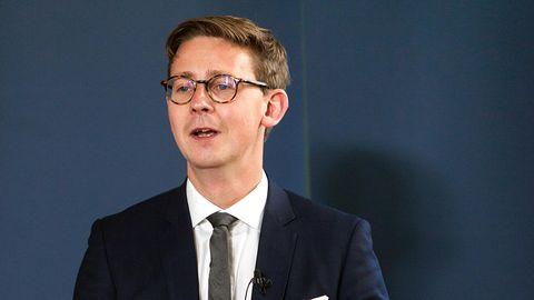 Dänemarks Minister für Steuern Karsten Lauritzen kritisiert Deutschland.