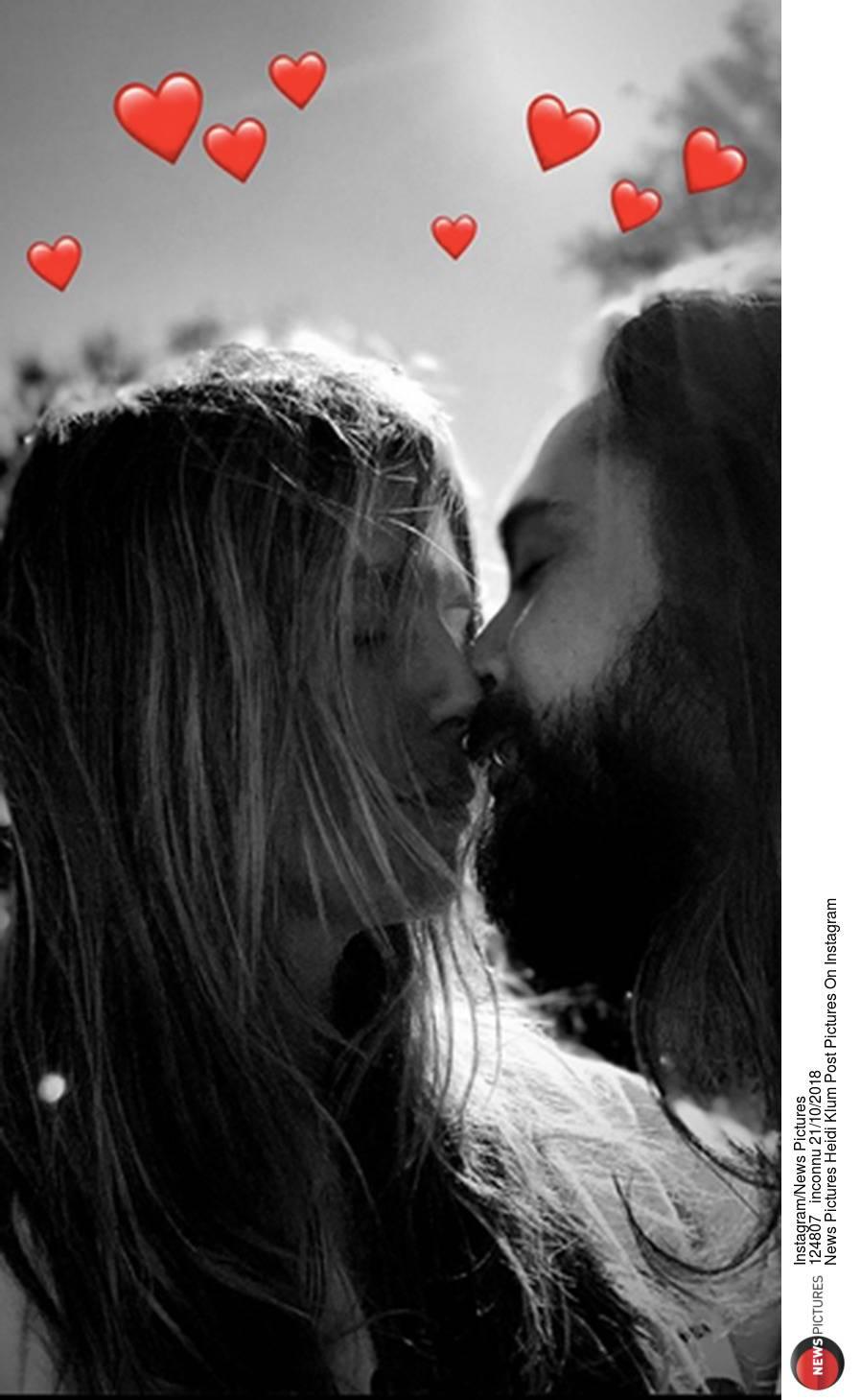 Halloween: Kaulitz, Knutschen, Kürbisse: Ist das Heidi Klums neues Sonntagsritual?