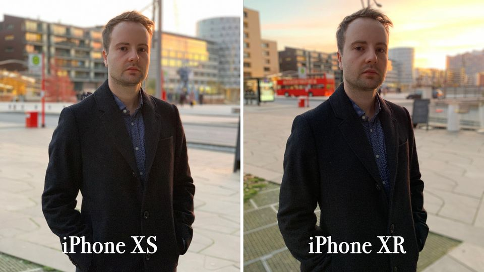 Der Porträteffekt des iPhone XR kann sich sehen lassen.