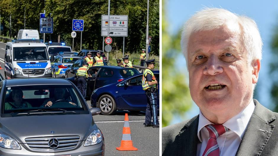 Kontrollen an der deutsch-österreichischen Grenze, Bundesinnenminister Horst Seehofer (CSU)