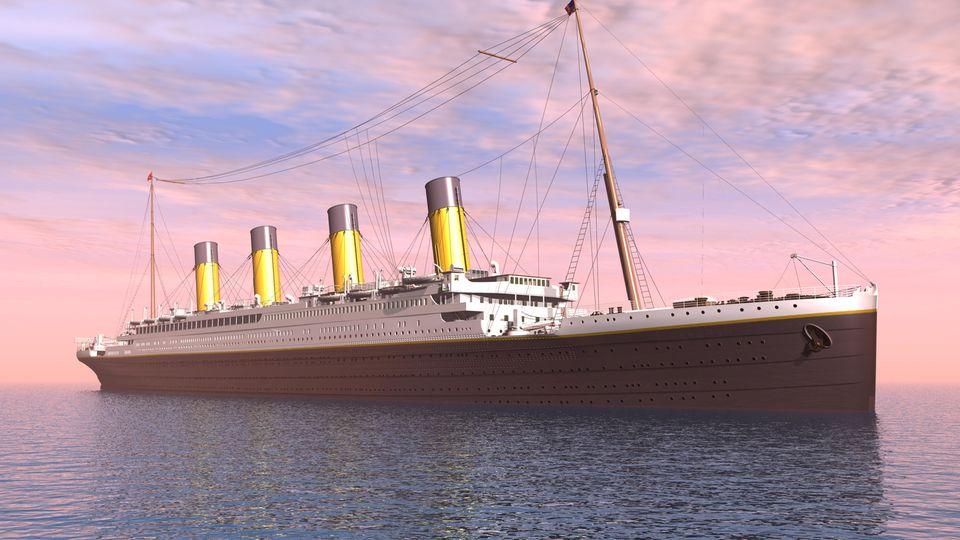 Grafische Darstellung der Titanic