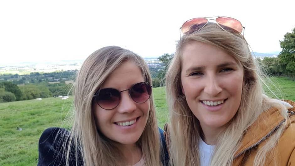 Frances Geall und ihre Verlobte Stacey