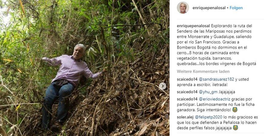 Bürgermeister von Bogota geht verloren