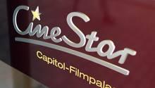 Cinestar-Eingangslogo