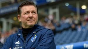 Christian Titz hatteden HSV kurz vorm Abstieg aus Liga eins übernommen