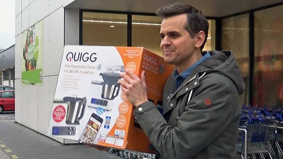 Quigg Küchenmaschine Stern Tv Zuschauer Haben Die Thermomix Kopie