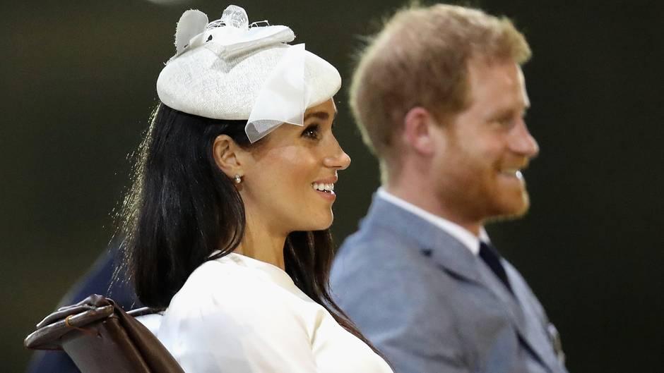 Ab Frühjahr 2019: So verändert das Baby von Prinz Harry und Meghan die britische Thronfolge